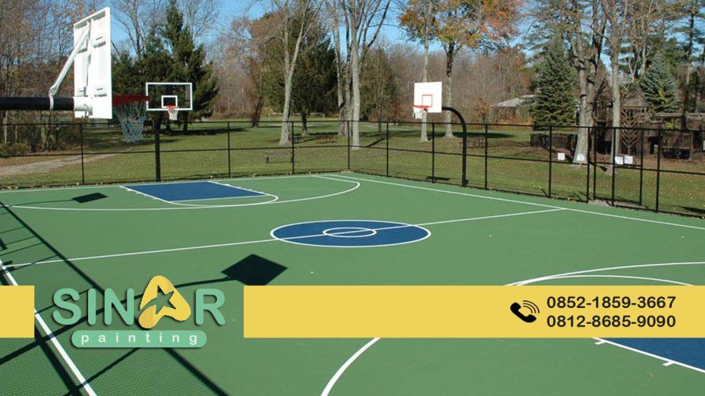 Pengecatan Lapangan Basket Cikarang