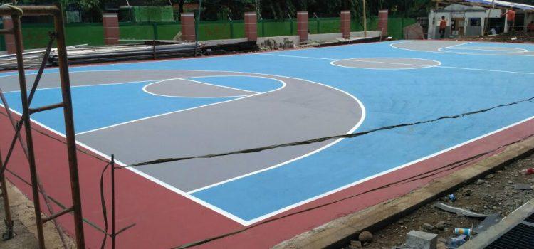 Spesialis Jasa Pengecatan Lapangan Basket Berkualitas Dengan Diskon 10%