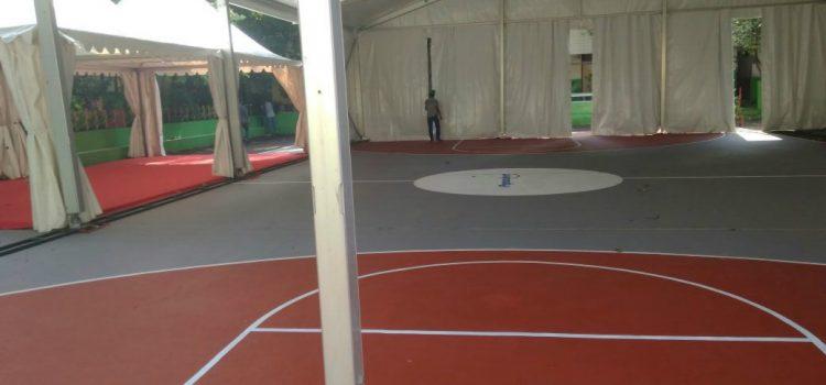 Pengecatan Lapangan Basket Berkualitas Dengan Diskon 10% !!!