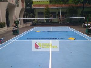 Jasa Pengecatan Lapangan Badminton Terbaik 2019