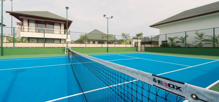 pengecatan lapangan tenis murah dan standar