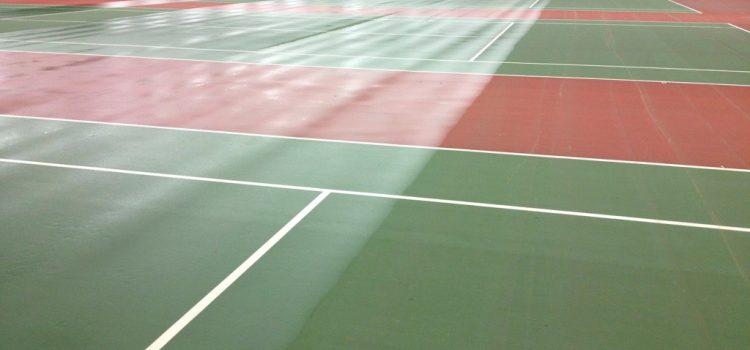 pengecatan lapangan tenis jakarta