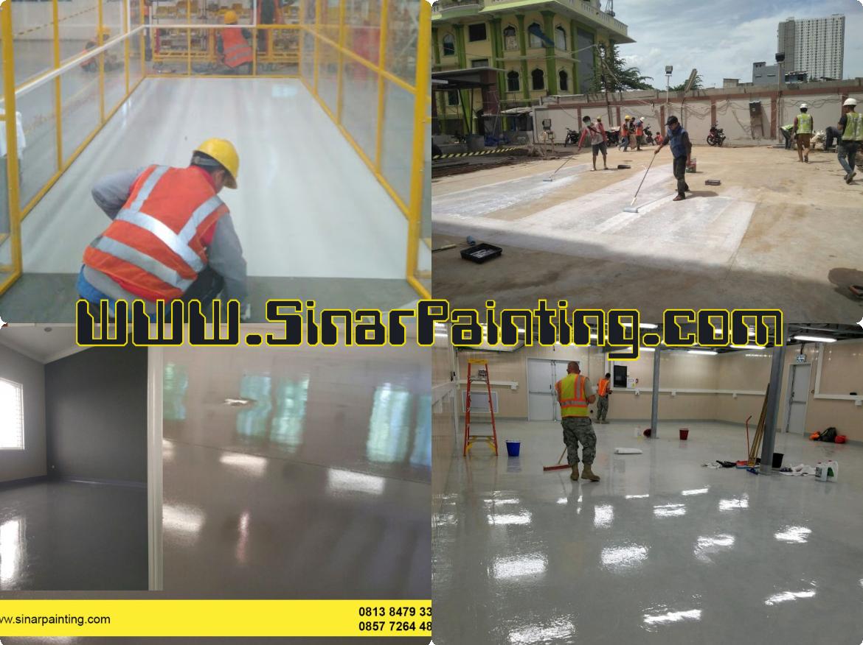 Epoxy Lantai Membuat Lantai Menjadi Tampak Bersih Dan Rapih