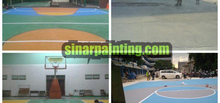Jasa Pengecatan Basket Indoor Dan Outdoor Terbaik