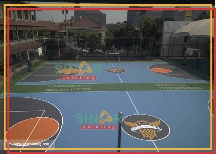 jasa cat lapangan basket jakarta 1